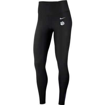 Clemson Nike Women's Power Sculpt Tights