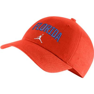 Florida Jordan Brand Heritage 86 Arch Adjustable Hat