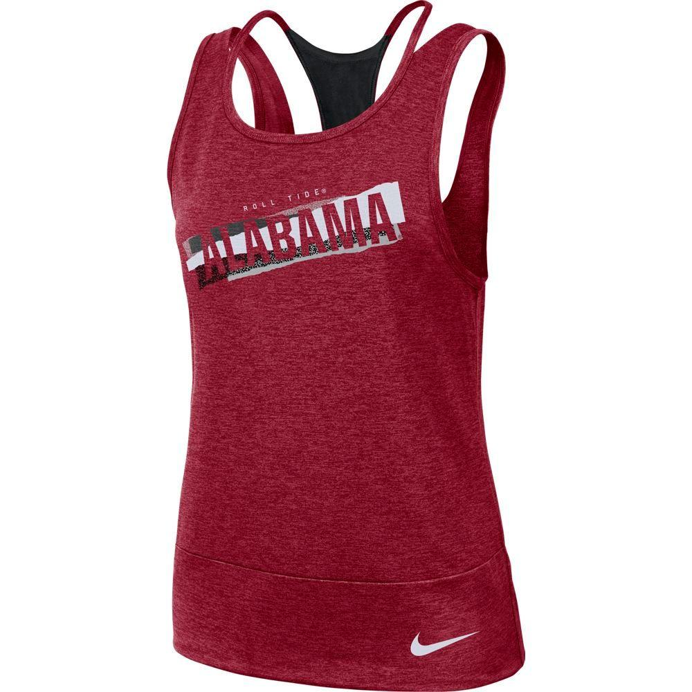 Alabama Nike Women's Dri- Fit Racerback Tank