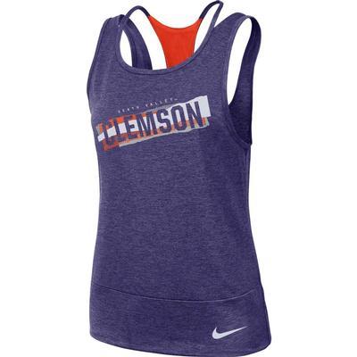 Clemson Nike Women's Dri-FIT Racerback Tank