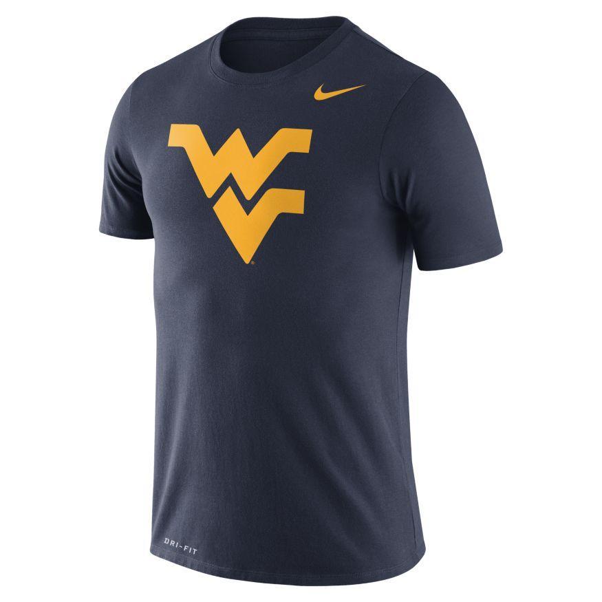 West Virginia Nike Dri- Fit Legend Logo Tee