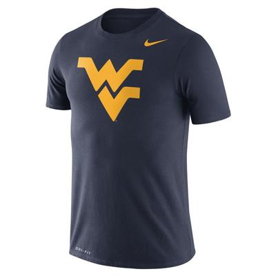 West Virginia Nike Dri-FIT Legend Logo Tee