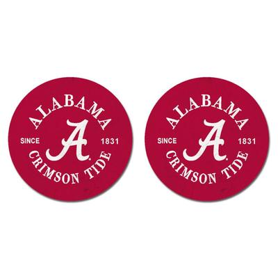 Alabama Legacy Car Coasters