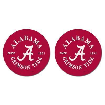 Alabama Legacy Car Coasters