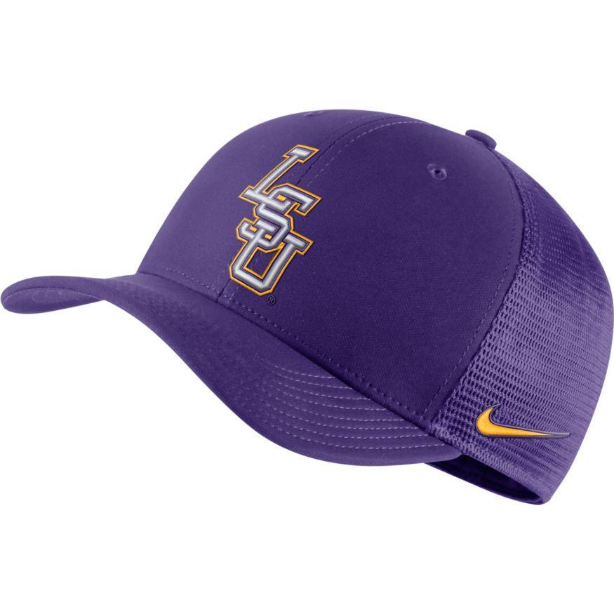 Lsu Nike C99 Flexfit Trucker Hat