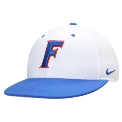 Florida Nike Fitted Baseball Hat WHITE
