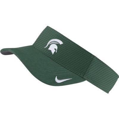 Michigan State Nike Aerobill Sideline Visor