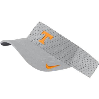 Tennessee Nike Aerobill Sideline Visor FLT_SILVER