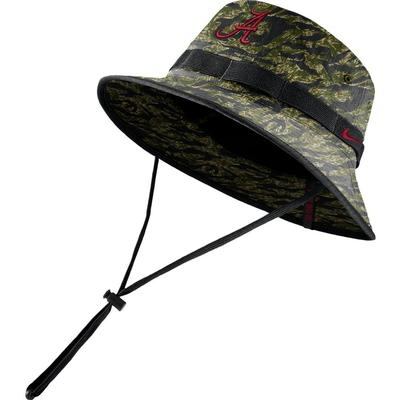 Alabama Nike Camo Bucket Hat