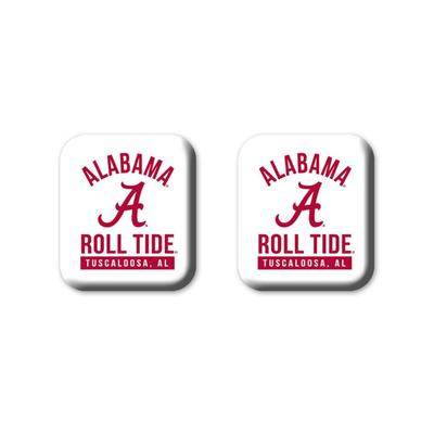 Alabama Legacy Square Fridge Magnets 2 Pack
