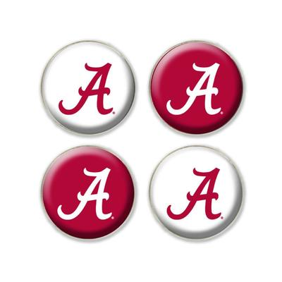Alabama Legacy Fridge Magnets 4 Pack
