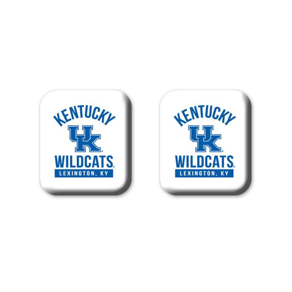 Kentucky Legacy Square Fridge Magnets 2 Pack