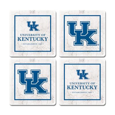 Kentucky Legacy Ivy League Coaster Set