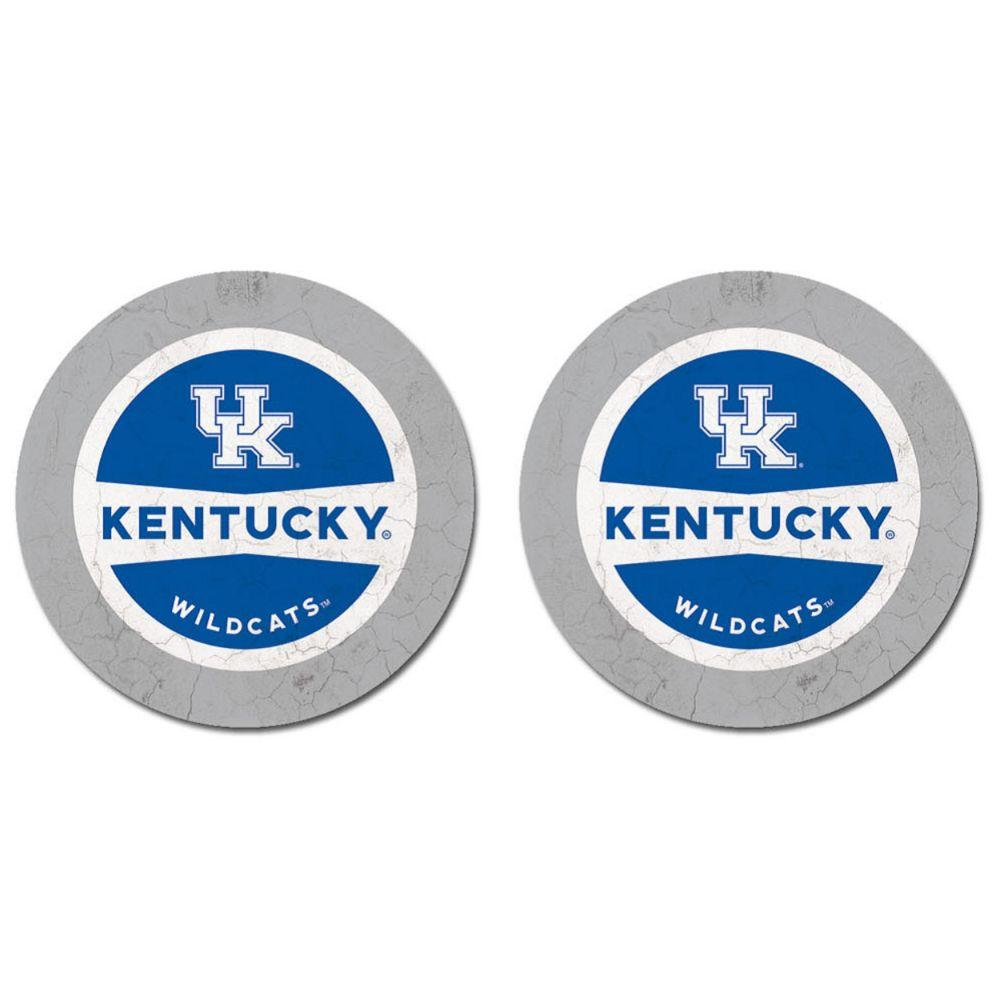 Kentucky Thirsty Car Coaster 2 Pack