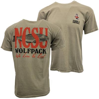 NC State We Lure the Best Short Sleeve Tee