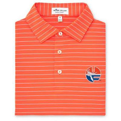 Florida Peter Millar Vault Trophy Stripe Jersey Polo