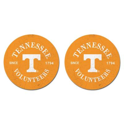 Tennessee Legacy Car Coasters