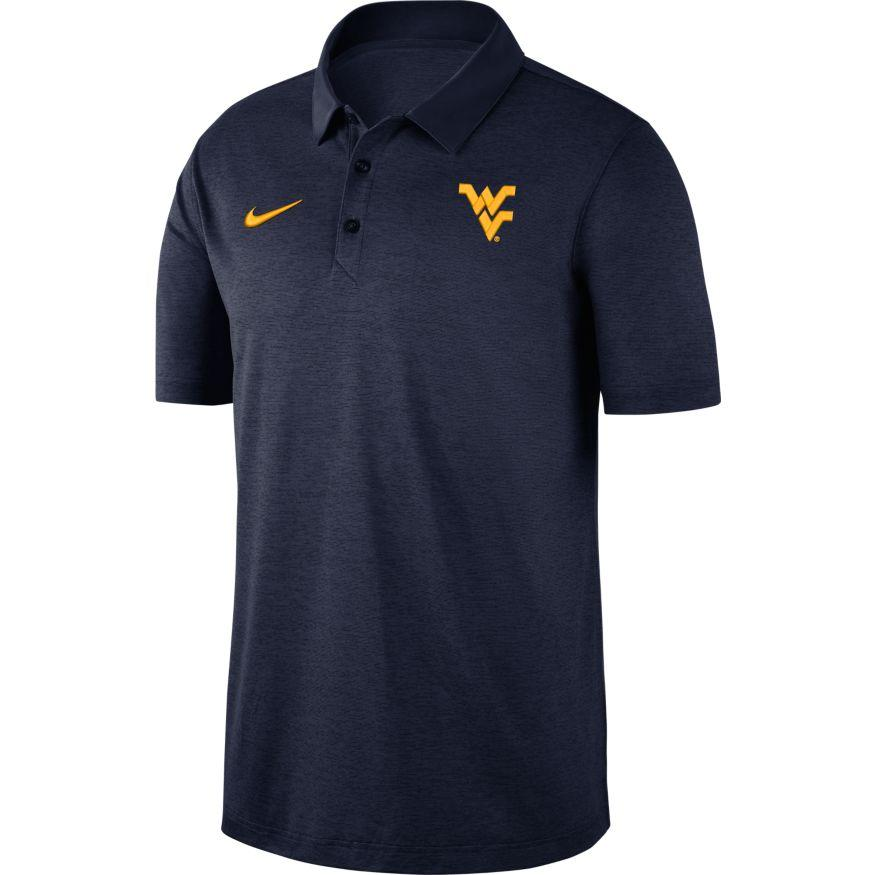 West Virginia Nike Dry Polo