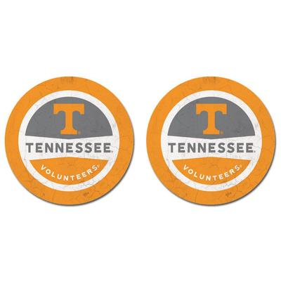 Tennessee Thirsty Car Coaster 2 Pack
