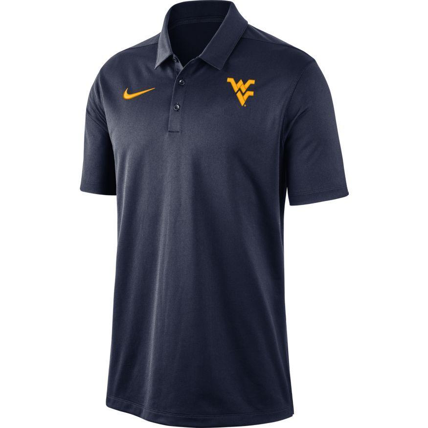 West Virginia Nike Dry Franchise Polo