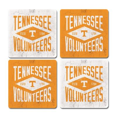 Tennessee Legacy Diamond Coaster Set - 4 Pack