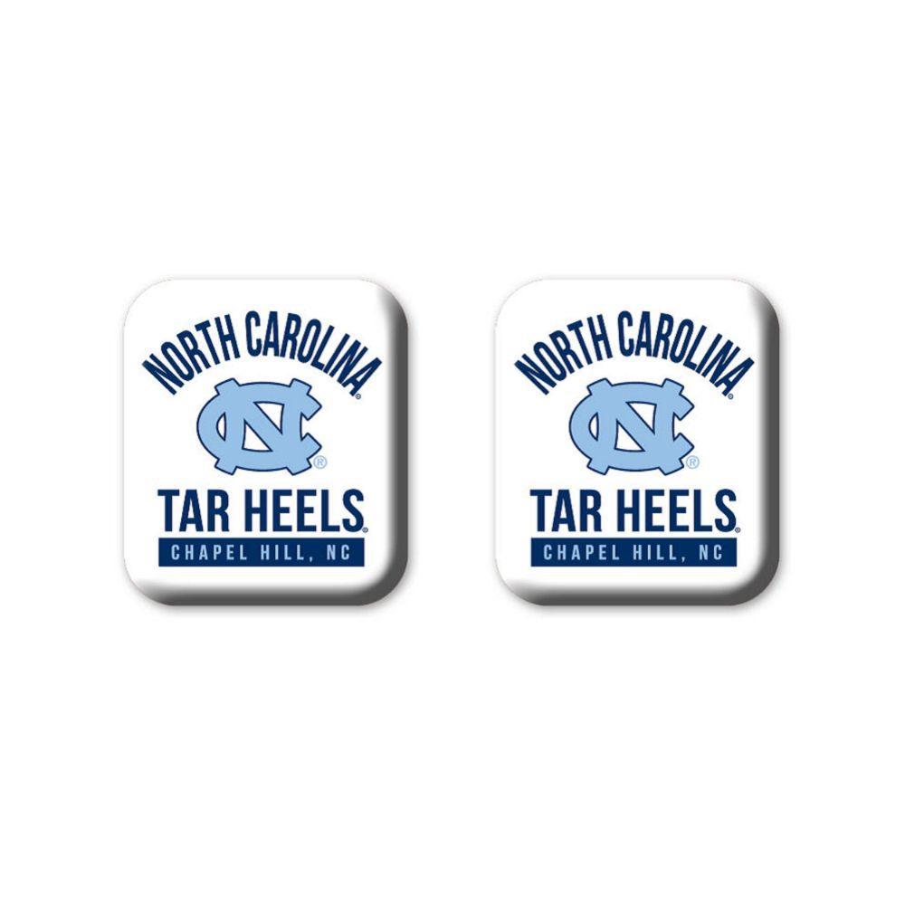 North Carolina Legacy Square Fridge Magnets 2 Pack