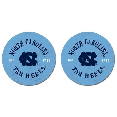 North Carolina Legacy Car Coasters