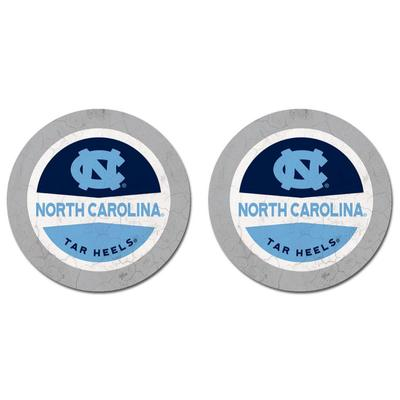 North Carolina Thirsty Car Coaster 2 Pack