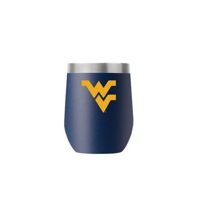 West Virginia Gametime Sidekicks 12 Oz. Stainless Steel Stemless Tumbler