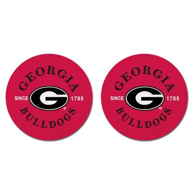 Georgia Legacy Car Coasters