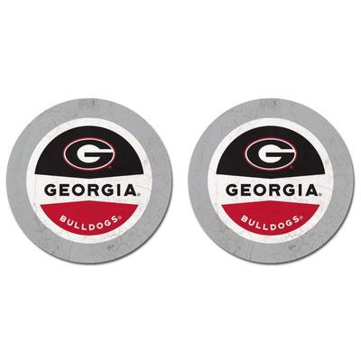 Georgia Thirsty Car Coaster 2 Pack