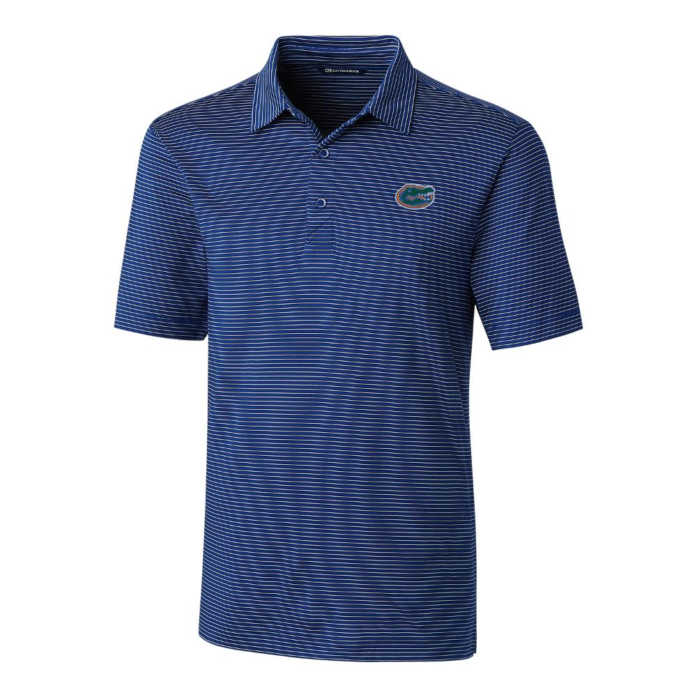 Florida Cutter And Buck Pencil Stripe Forge Polo