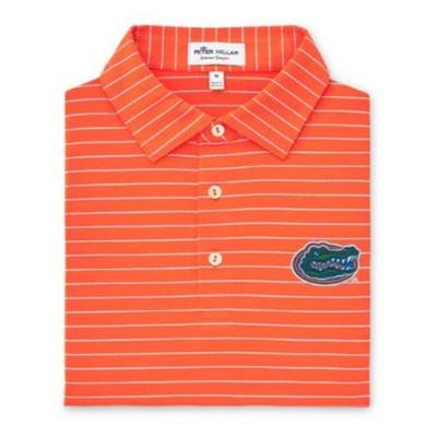 Florida Peter Millar Trophy Stripe Polo
