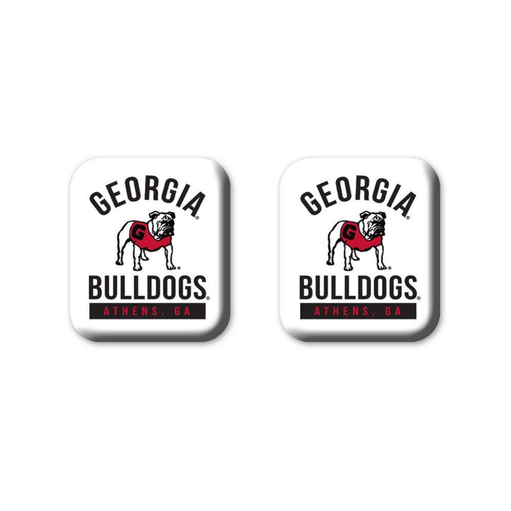 Georgia Legacy Square Fridge Magnets 2 Pack
