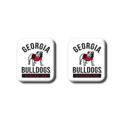 Georgia Legacy Square Fridge Magnets 2 Pack