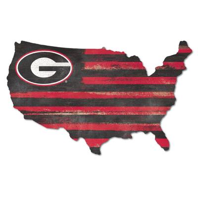Georgia Legacy USA Wooden Wall Mount Sign