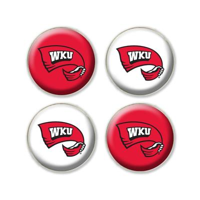 Western Kentucky Legacy Fridge Magnets 4 Pack