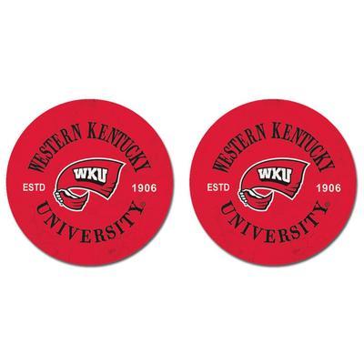 Western Kentucky Legacy Car Coasters