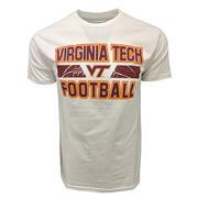 Virginia Tech Football Stacked Laces T- Shirt
