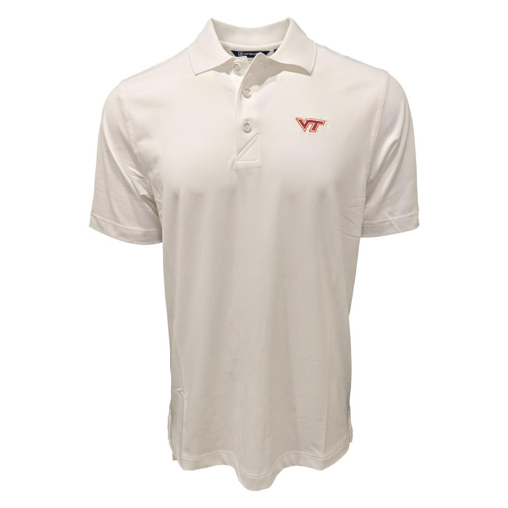 Virginia Tech Cutter & Buck Forge Polo