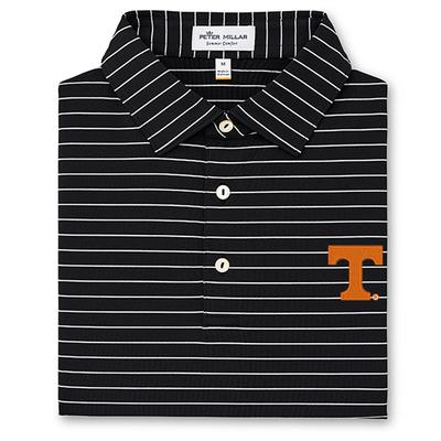 Tennessee Peter Millar Trophy Stripe Polo