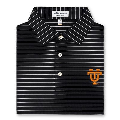 Tennessee Peter Millar Vault Logo Trophy Stripe Polo