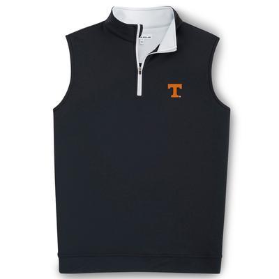 Tennessee Peter Millar Galway 1/4 Zip Vest