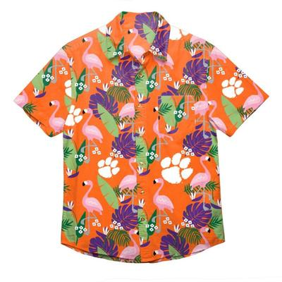 Clemson FOCO Floral Shirt