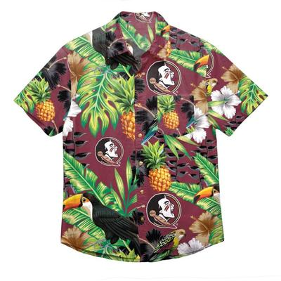 Florida State FOCO Floral Shirt