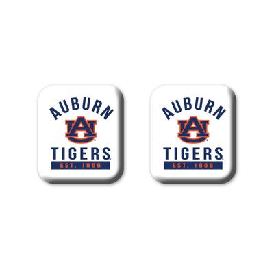 Auburn Legacy Square Fridge Magnets 2 Pack