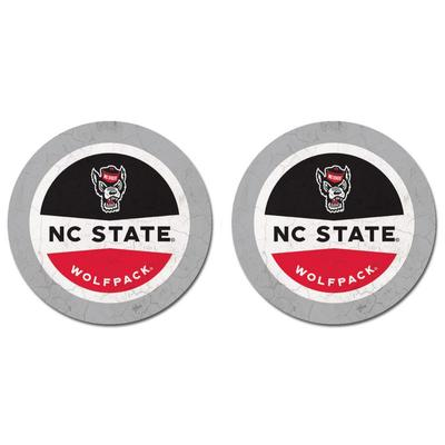 NC State Thirsty Car Coaster 2 Pack