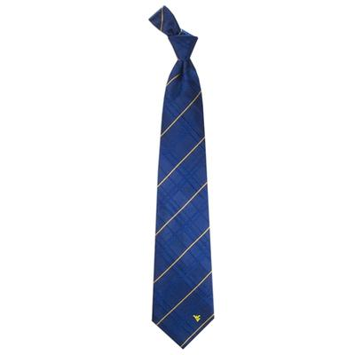 West Virginia Oxford Woven Tie