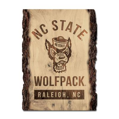 NC State Legacy Tree Plank Sign