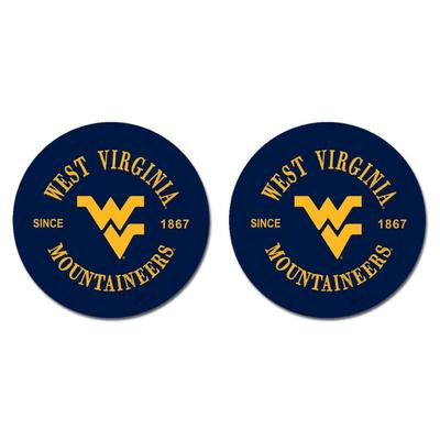 West Virginia Legacy Car Coasters